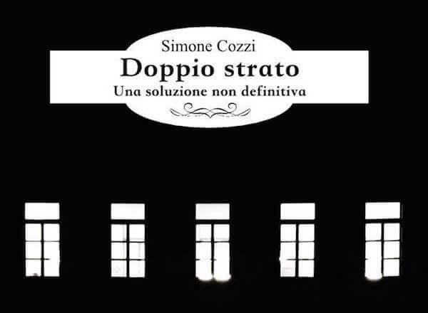 """Copertina del libro """"Doppio strato"""" di Simone Cozzi, Panda Edizioni (particolare)"""