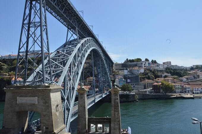 Il ponte Dom Luís I a Porto