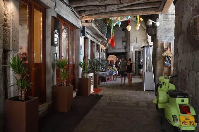 La Rua dos Canastreiros a Porto