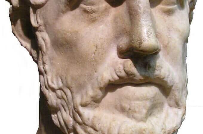 Busto di Tucidide (da Wikipedia)
