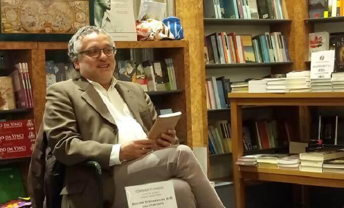 """Patrizio Nissirio al Punto Touring di Milano presenta """"Atene, cannella e cemento"""" (Giulio Perrone Editore)"""
