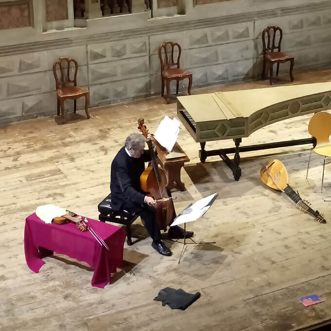 Jordi Savall al Teatro Bibiena di Mantova