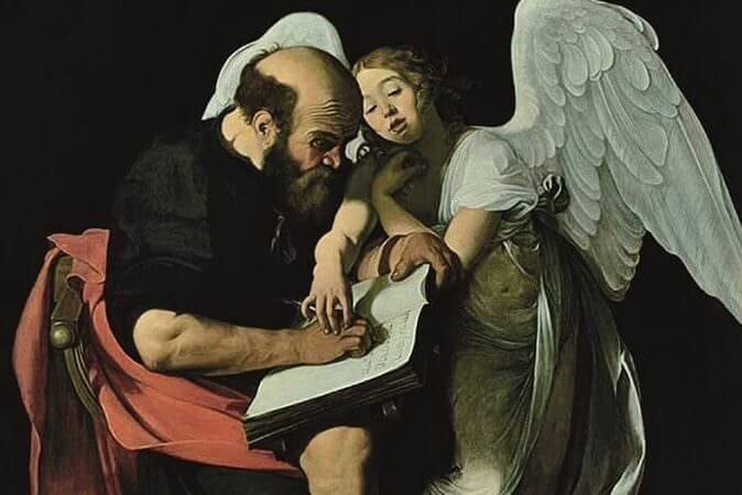 Il mistero dell'angelo perduto, libro di Paolo Jorio e Rossella Vodret (particolare della copertina)