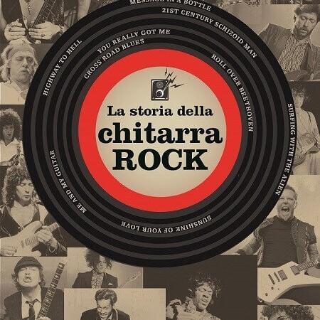 """La copertina del libro """"La storia della chitarra rock"""" di"""