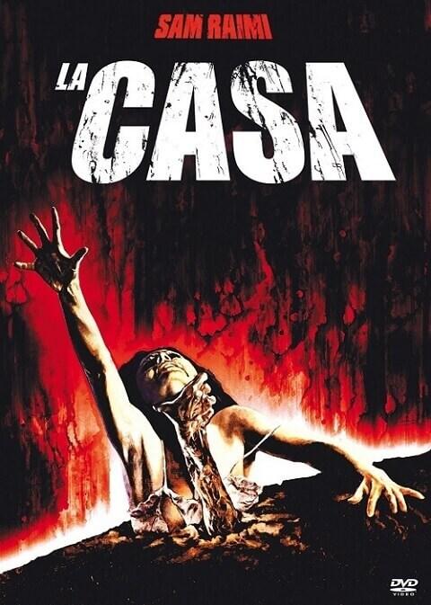 """Il DVD del film """"La casa"""" di Sam Raimi"""