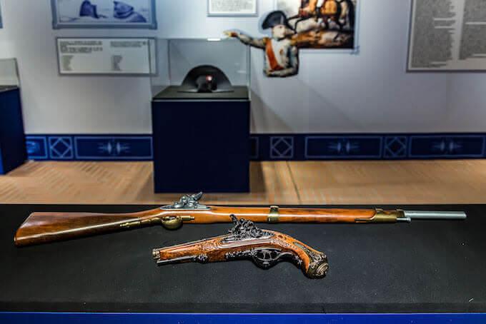 Il fucile da caccia donato da Napoleone al capitano Besson nel 1815