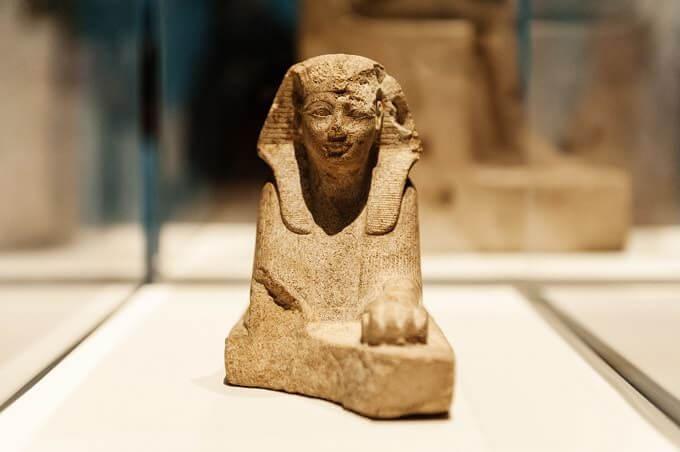Amenofi II in forma di sfinge