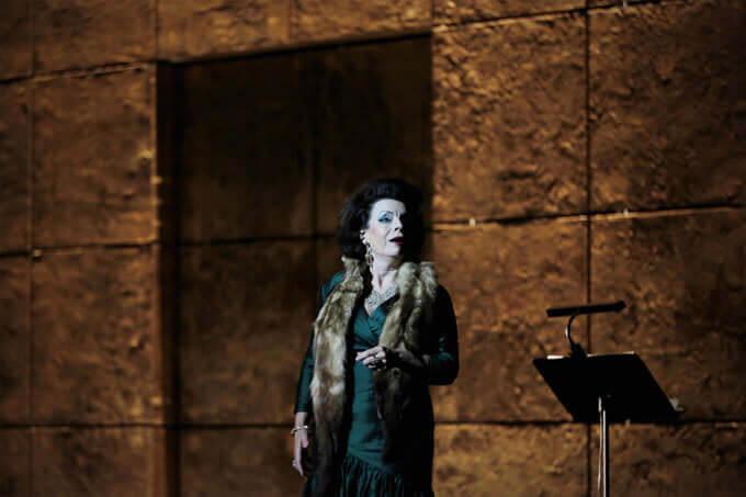 Lioba Braun nell'Elektra di Strauss — foto di Bruno Simão
