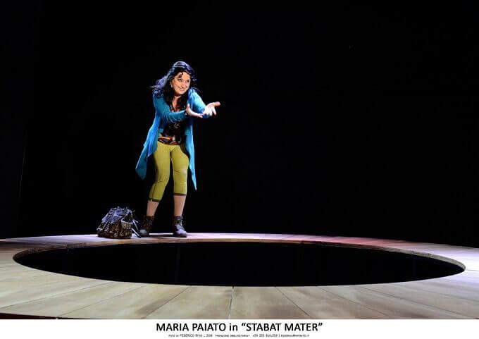 """Maria Paiato in """"Stabat Mater"""" - foto di Federico Riva"""
