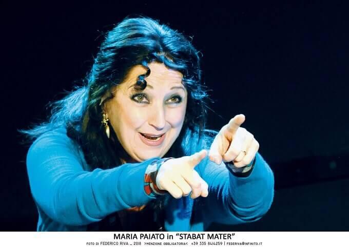 """Maria Paiato in """"Stabat Mater"""""""