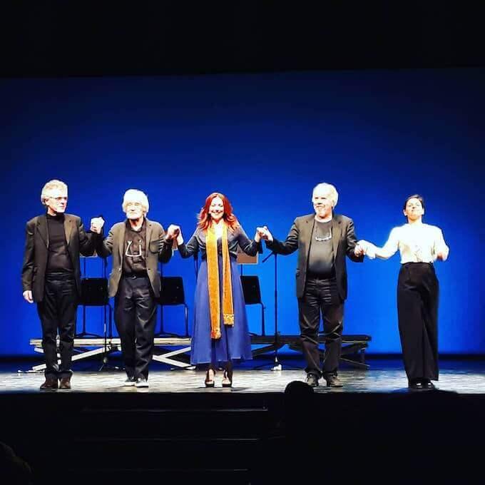 """Gabriella Greison tra gli attori di """"Faust a Copenaghen"""""""