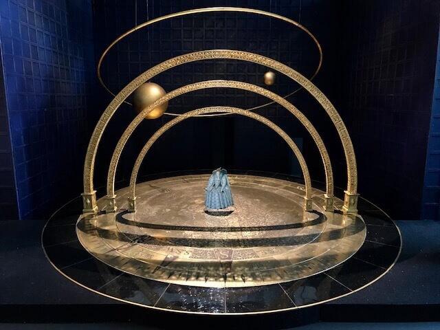 """Modellino per l'opera """"Gloriana"""" di Benjamin Britten al Teatro Real di Madrid"""