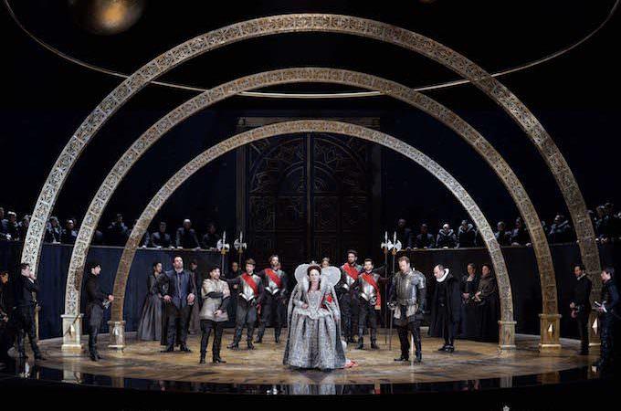 """""""Gloriana"""" di Benjamin Britten al Teatro Real di Madrid"""