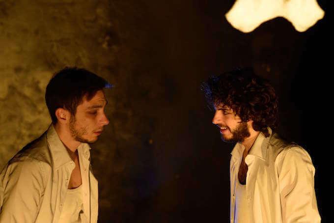 "Edoardo Barbone e Daniele Fedeli in ""Malagrazia"""