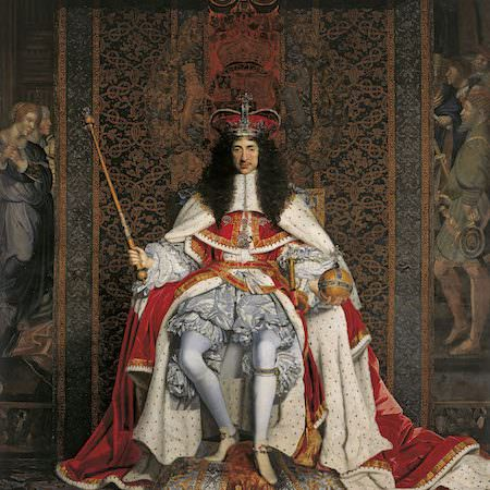 John Michael Wright, Ritratto di Carlo II (1676 circa)