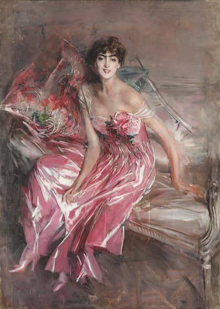 Giovanni Boldini, La signora in rosa (Ritratto di Olivia Concha de Fontecilla), 1916