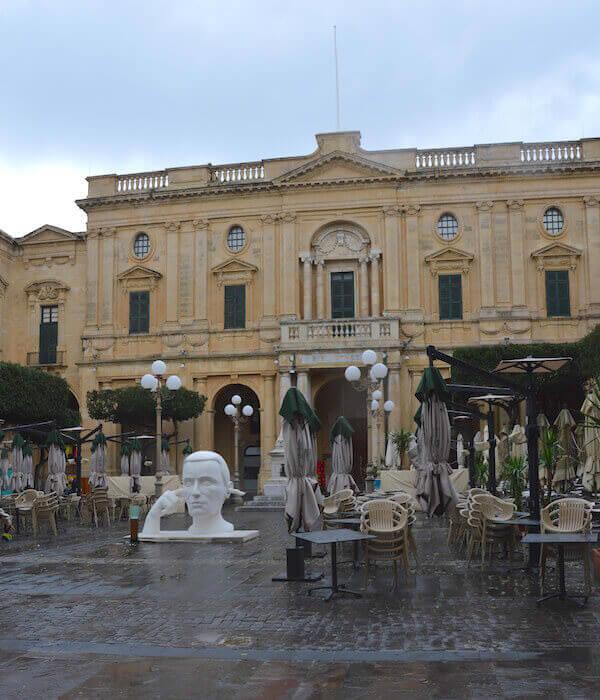 La Biblioteca Nazionale a La Valletta, Malta
