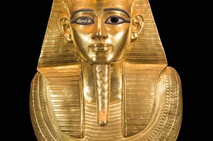 Maschera funeraria del re Pseusennes I
