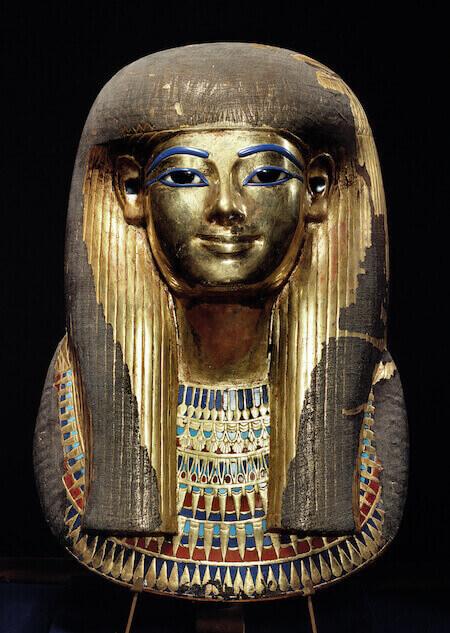 Maschera funeraria di Tuya