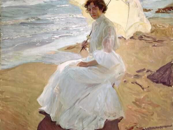 Joaquín Sorolla y Bastida, Clotilde sulla spiaggia, 1904 - Museo Sorolla, Madrid