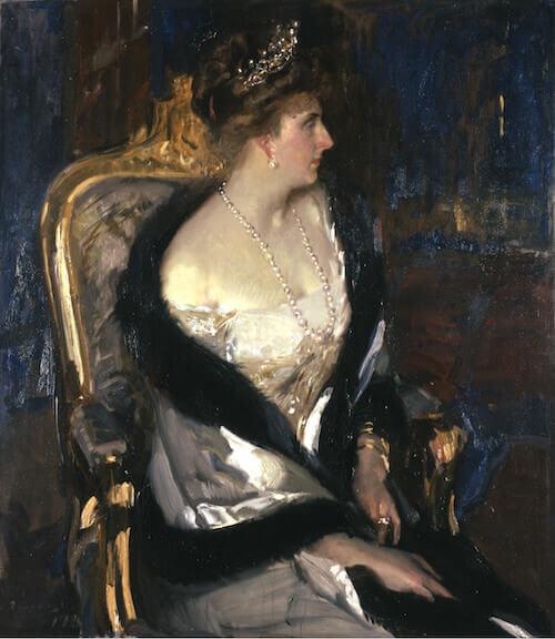 Joaquín Sorolla y Bastida, La regina Victoria Eugenia (1911) - The Hispanic Society of America, New York