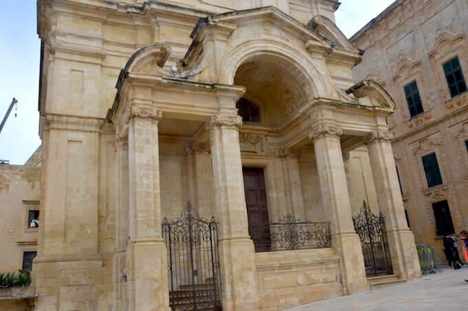 La chiesa di Santa Caterina a La Valletta, Malta
