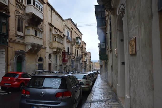 Triq il-Fran ossia Old Bakery Street a La Valletta, Malta
