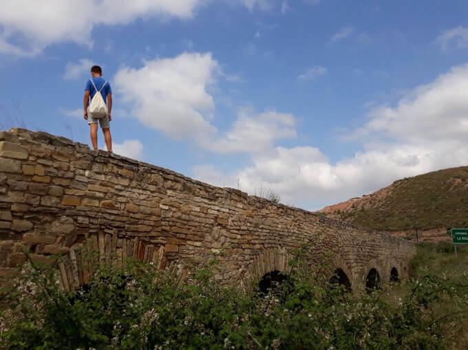 L'acquedotto romano di Lodosa