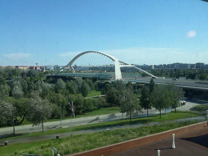 Il Ponte del Terzo Millennio a Saragozza