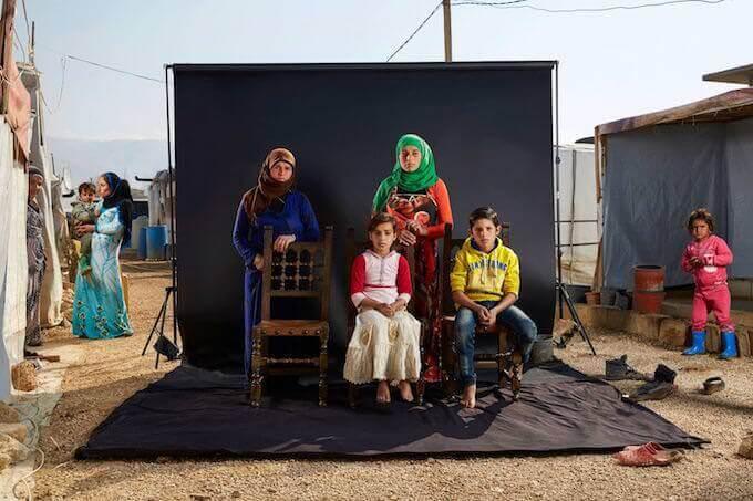Lost Family Portraits –Dario Mitidieri – ISFCI ROMA, Famiglia di Khawle