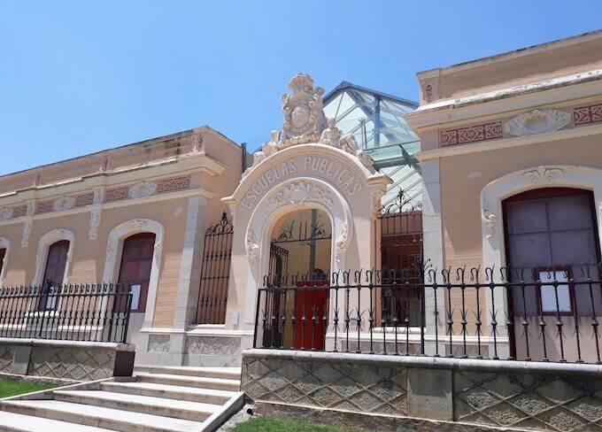"""Il """"Museu de les Terres de l'Ebre"""" ad Amposta (Museo delle Terre dell'Ebro), in Catalogna"""