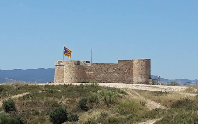 Il fortino carlista di Flix, in Catalogna