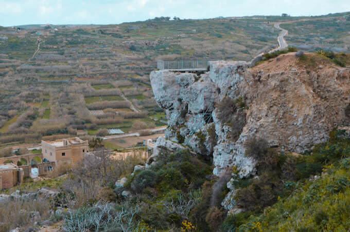 La grotta di Calipso a Gozo