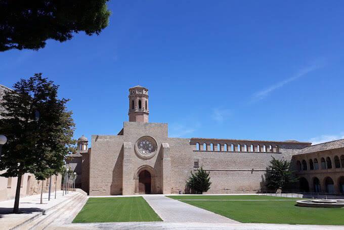 Real Monasterio de Nuestra Señora de Rueda a Sástago