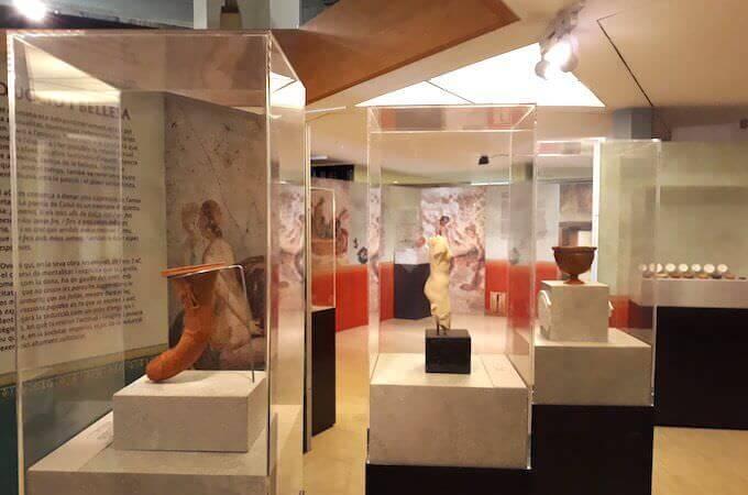 """La mostra """"Il sesso in epoca romana"""" al Museo d'Archeologia di Catalogna a Barcellona"""
