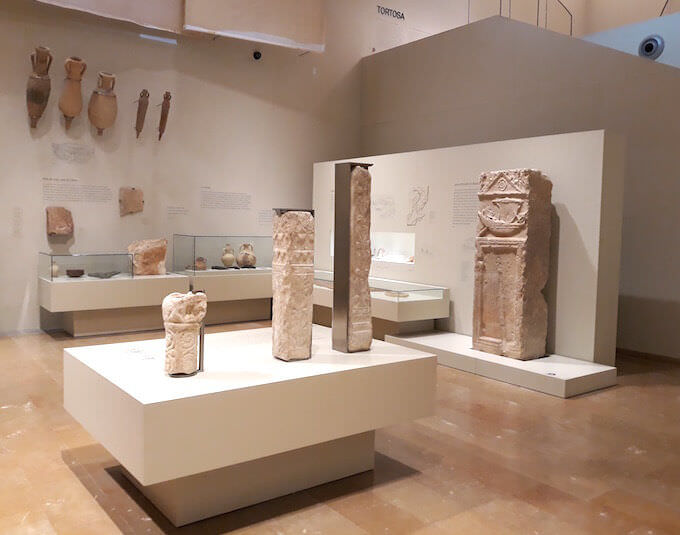 La sezione romana del Museo di Tortosa, in Catalogna