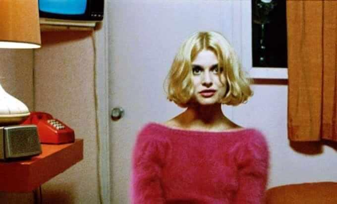 "Natassja Kinski nel film ""Paris, Texas"" di Wim Wenders (foto: Twentieth Century Fox/Everett/Rex Features)"