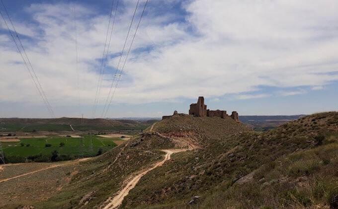 Il Castillo de la Palma a Sástago (Aragona)
