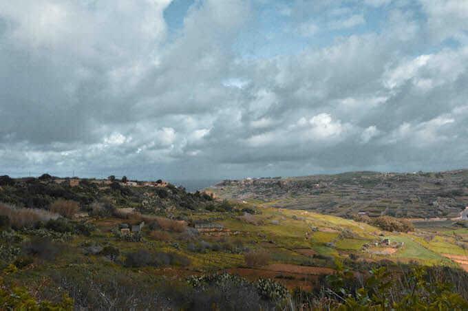 Verso la Grotta di Calipso a Gozo