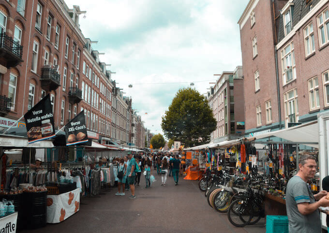 Bancarelle ad Amsterdam