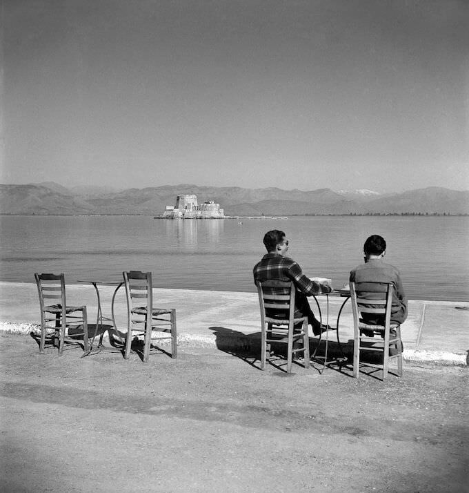Joan Leigh Fermor, Nafplion - National Library of Scotland, Joan Leigh Fermor Photographic Collection, Edinburgh © Joan Leigh Fermor Estate