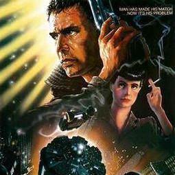 """Locandina del film """"Blade Runner"""" (particolare)"""
