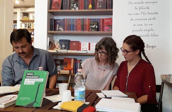 Francesco Fava presenta Nona Fernández a Milano