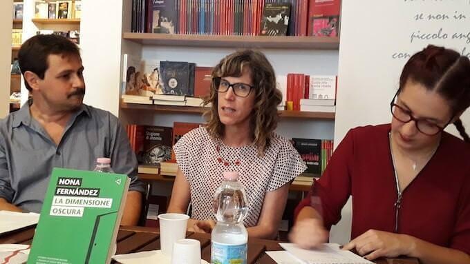 Nona Fernández alla libreria Il Tempo Ritrovato di Milano