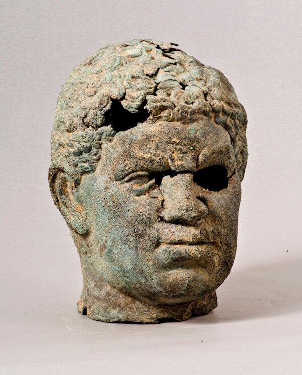 Testa maschile, Taranto (?) IV-I a.C. Lega d'argento - © Milano, Museo Poldi Pezzoli