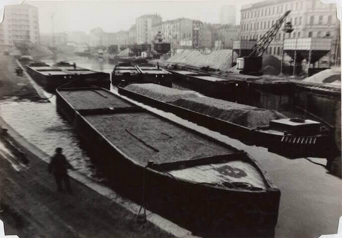 Mario Finocchiaro, Milano, Darsena (c. 1958)