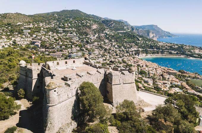 Il Fort du Mont Alban in Costa Azzurra