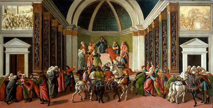 Sandro Botticelli, Storia di Virginia, Accademia Carrara, Bergamo