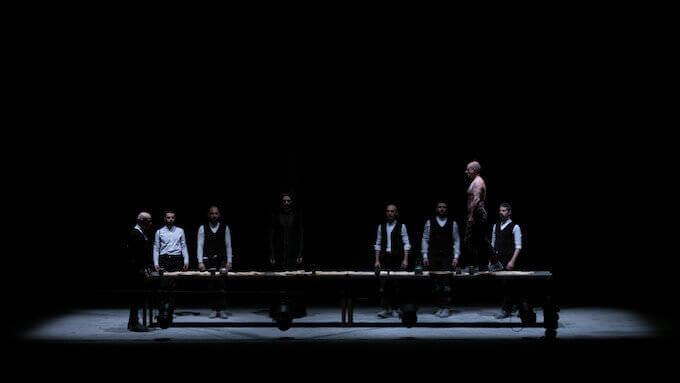 """Una scena del """"Macbettu"""" di Alessandro Serra"""