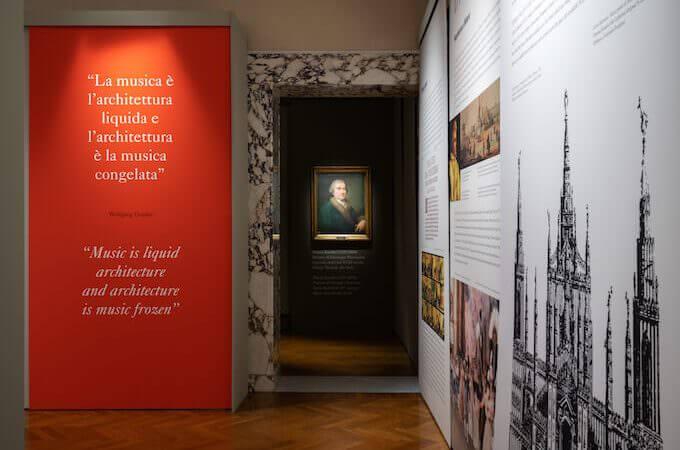 "Una sala della mostra ""La Magnifica Fabbrica"" - foto di Andrea Martiradonna"